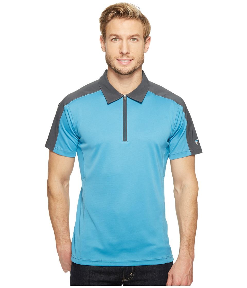 KUHL - Shadow Polo (Swedish Blue) Men's Clothing