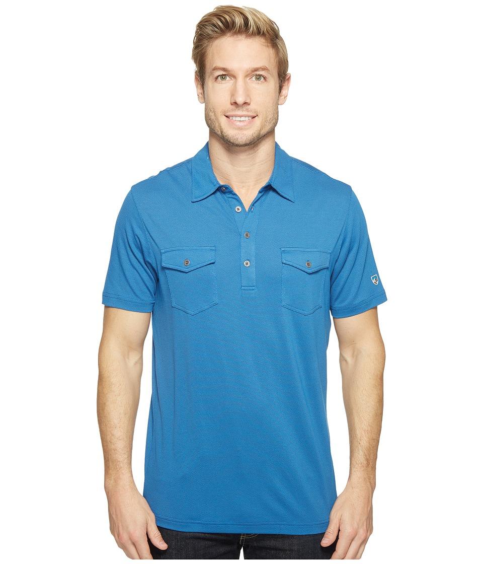 KUHL - Icelandrtm S/S Shirt (Neptune) Men's Short Sleeve Pullover
