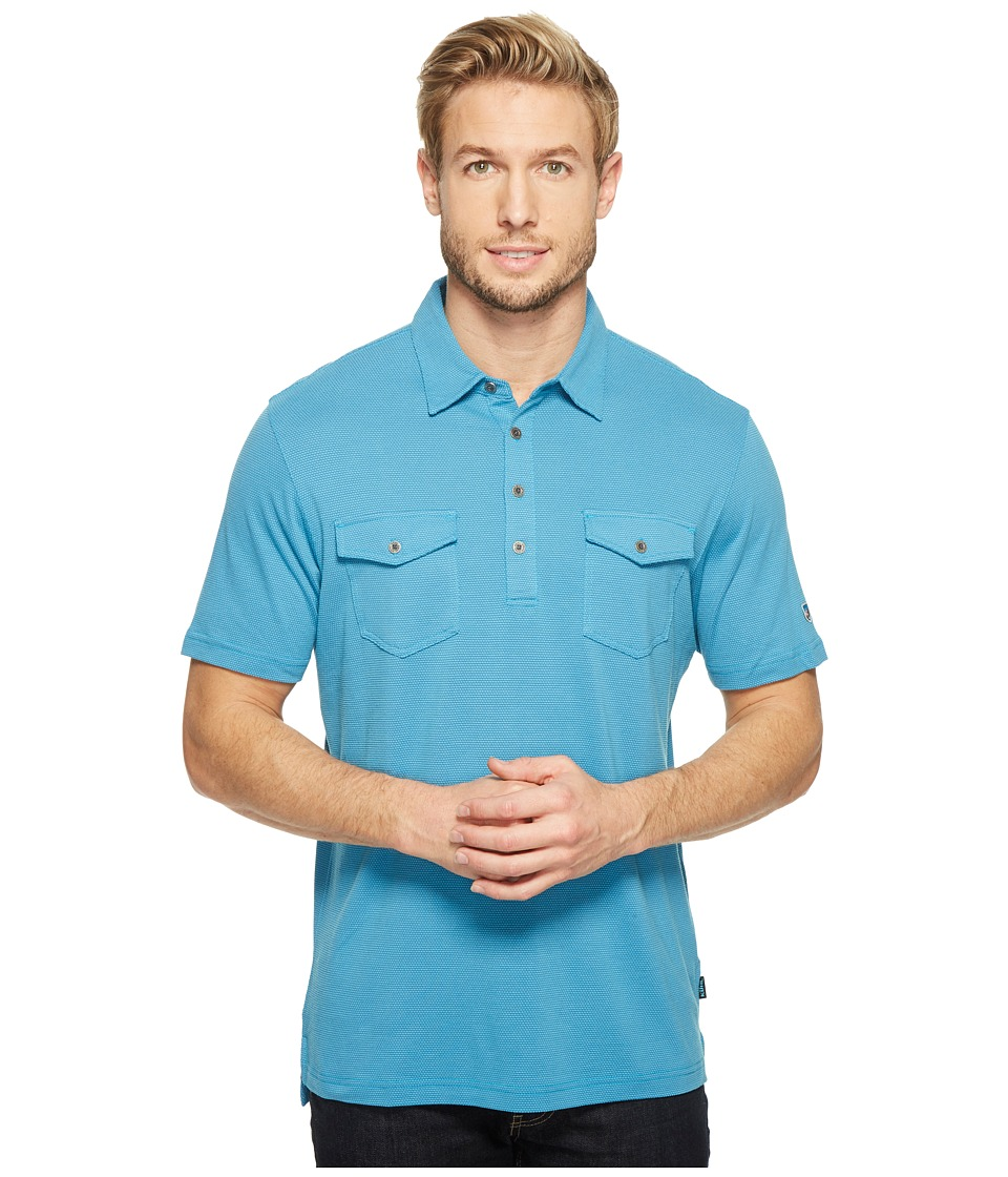KUHL - Icelandrtm S/S Shirt (Swedish Blue) Men's Short Sleeve Pullover