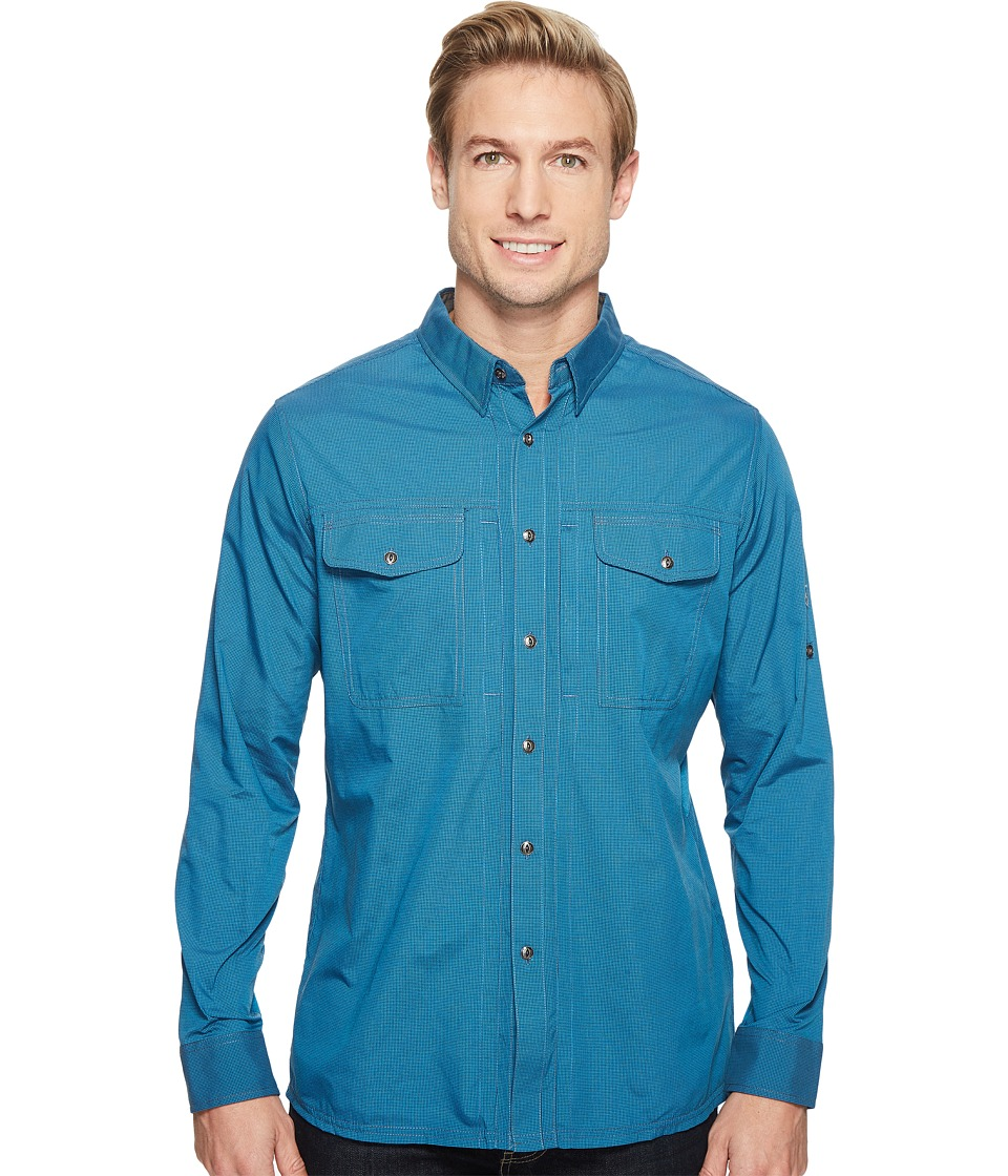 KUHL - Airkraft (Lake Blue) Men's Long Sleeve Button Up