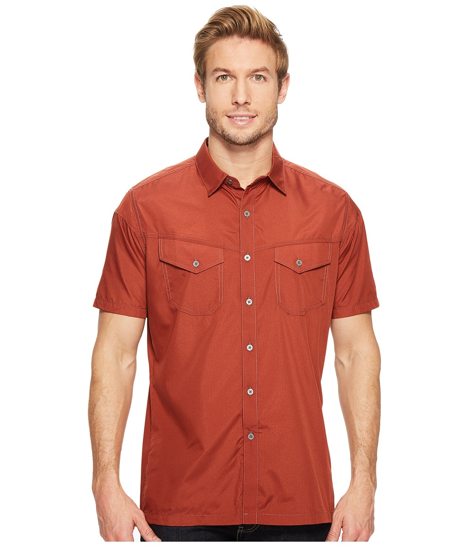 KUHL - Stealth (Rustic Sun) Men's Short Sleeve Button Up
