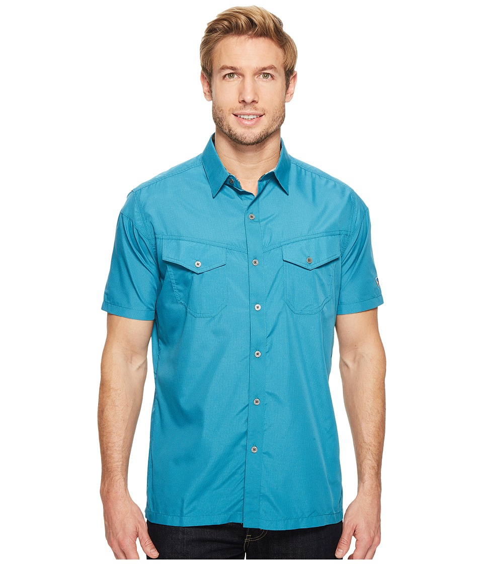 KUHL - Stealth (Ocean Depths) Men's Short Sleeve Button Up