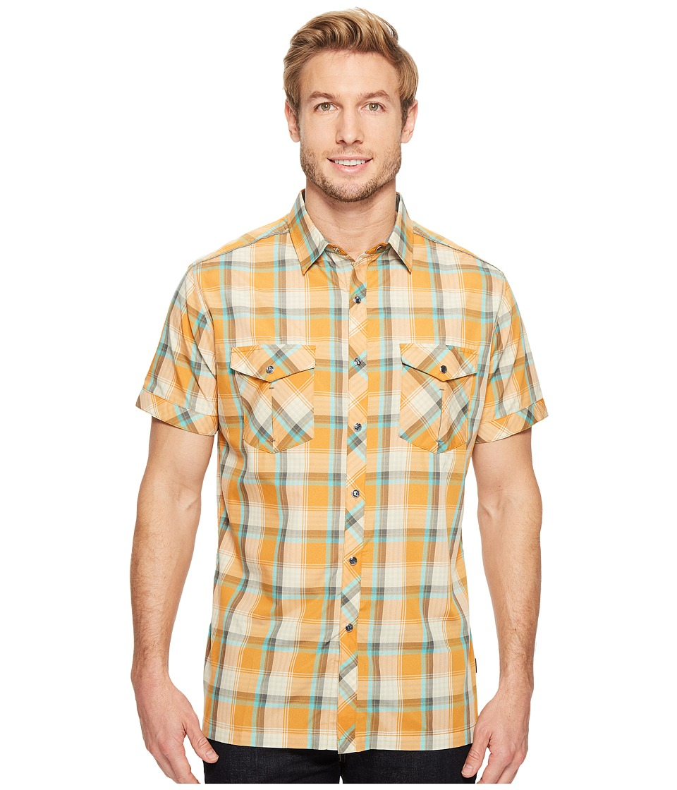 KUHL - Konquer S/S (Sunset Orange) Men's Short Sleeve Button Up