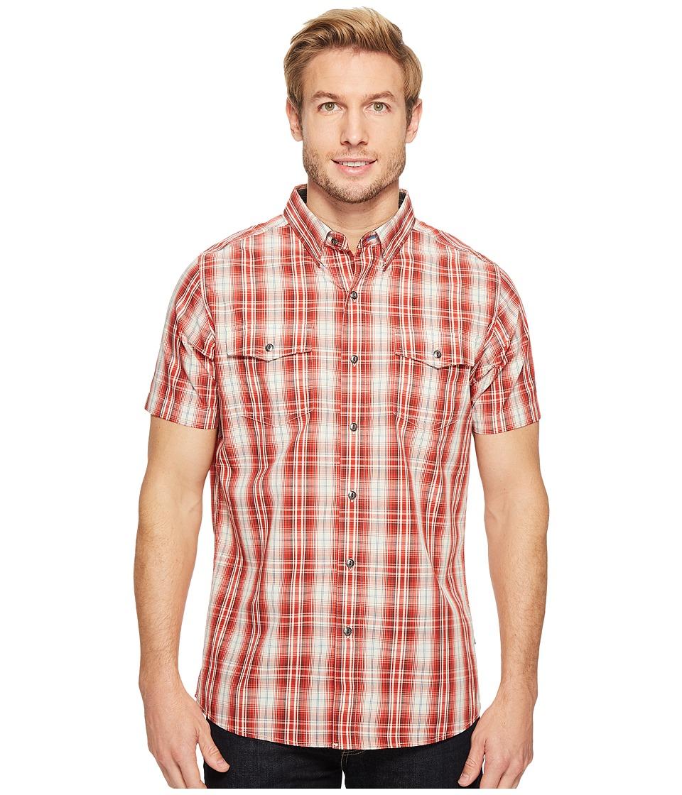 KUHL - Brisktm Short Sleeve Shirt (Chili Pepper) Men's Short Sleeve Button Up