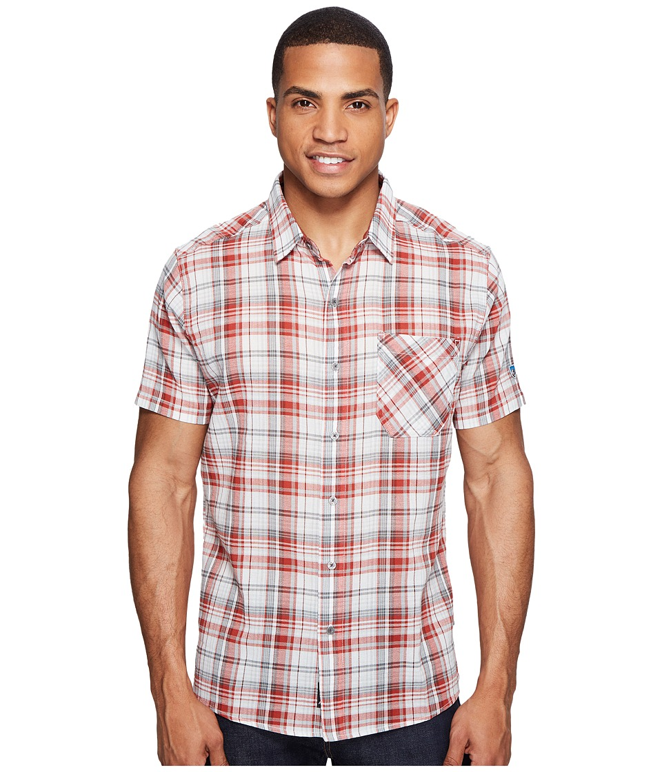 KUHL - Tropiktm S/S Shirt (Picante Red) Men's Short Sleeve Button Up