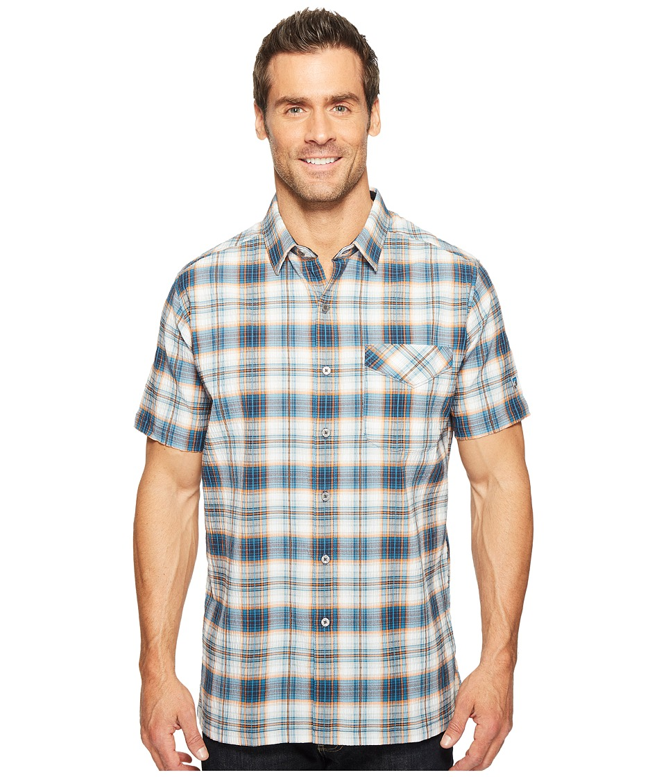 KUHL - Stallion (Moroccan Blue) Men's Short Sleeve Button Up