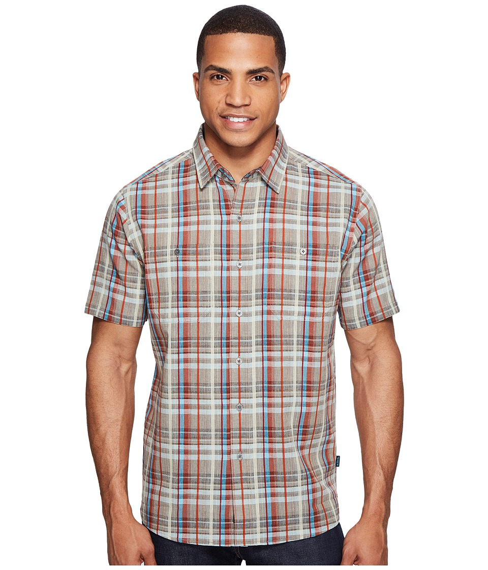 KUHL - Skorpio (Seaport) Men's Short Sleeve Button Up