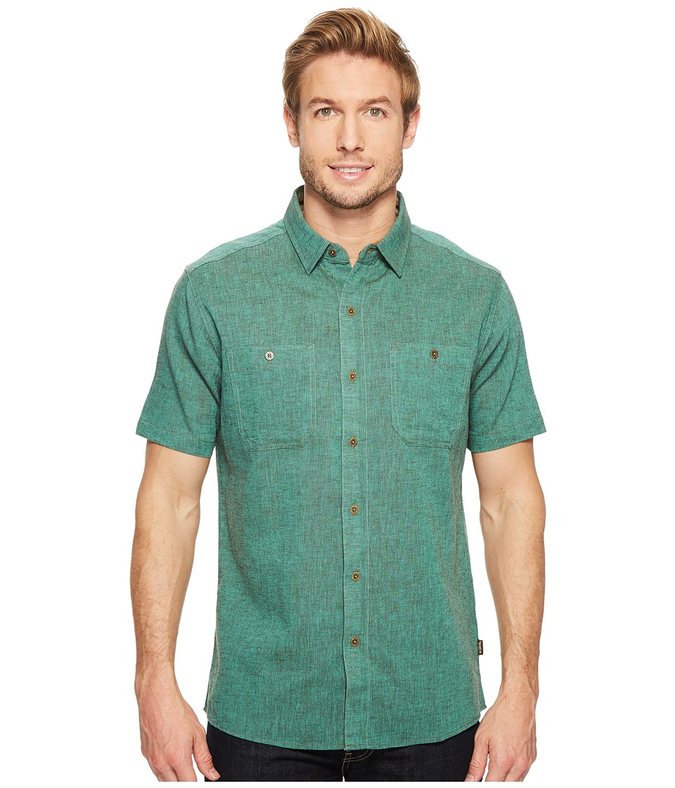 KUHL - Skorpio (Aquamarine) Men's Short Sleeve Button Up