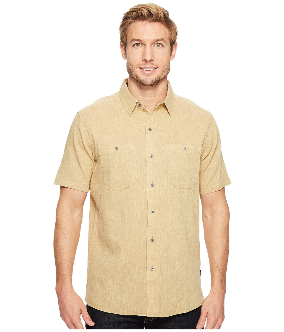 KUHL - Skorpio (Sand) Men's Short Sleeve Button Up