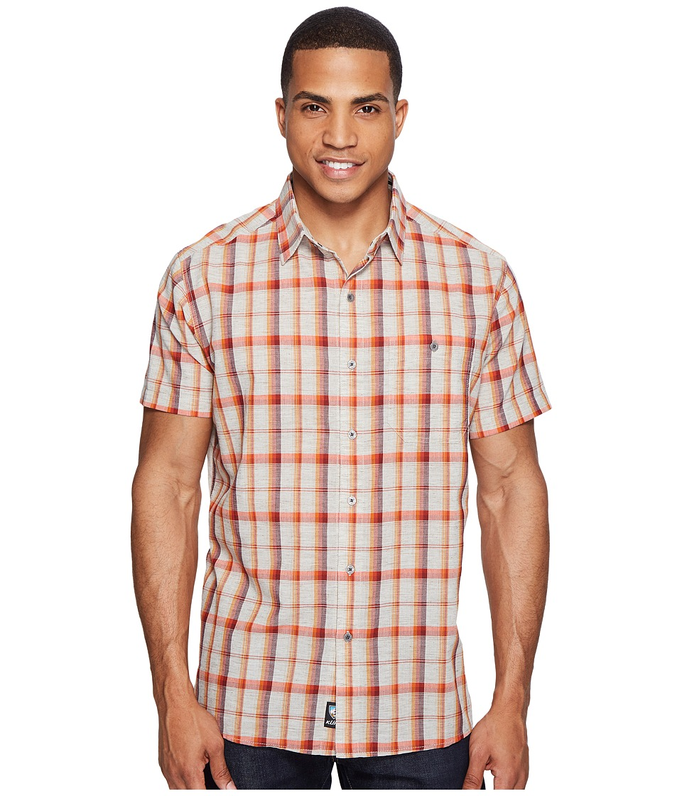 KUHL - Genetyk (Red Rock Canyon) Men's Short Sleeve Button Up