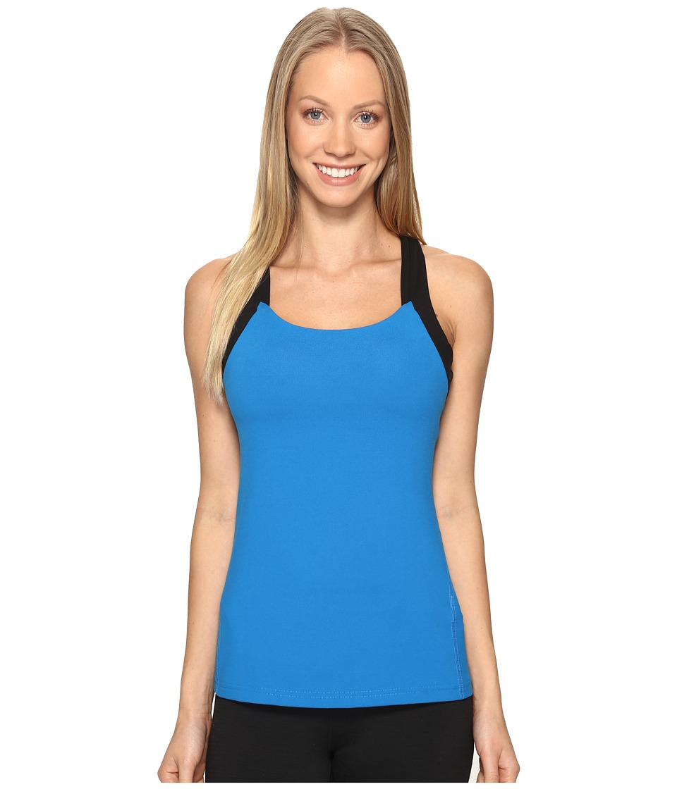 Lucy - Fitness Fix Tank Top (Imperial Blue) Women's Sleeveless