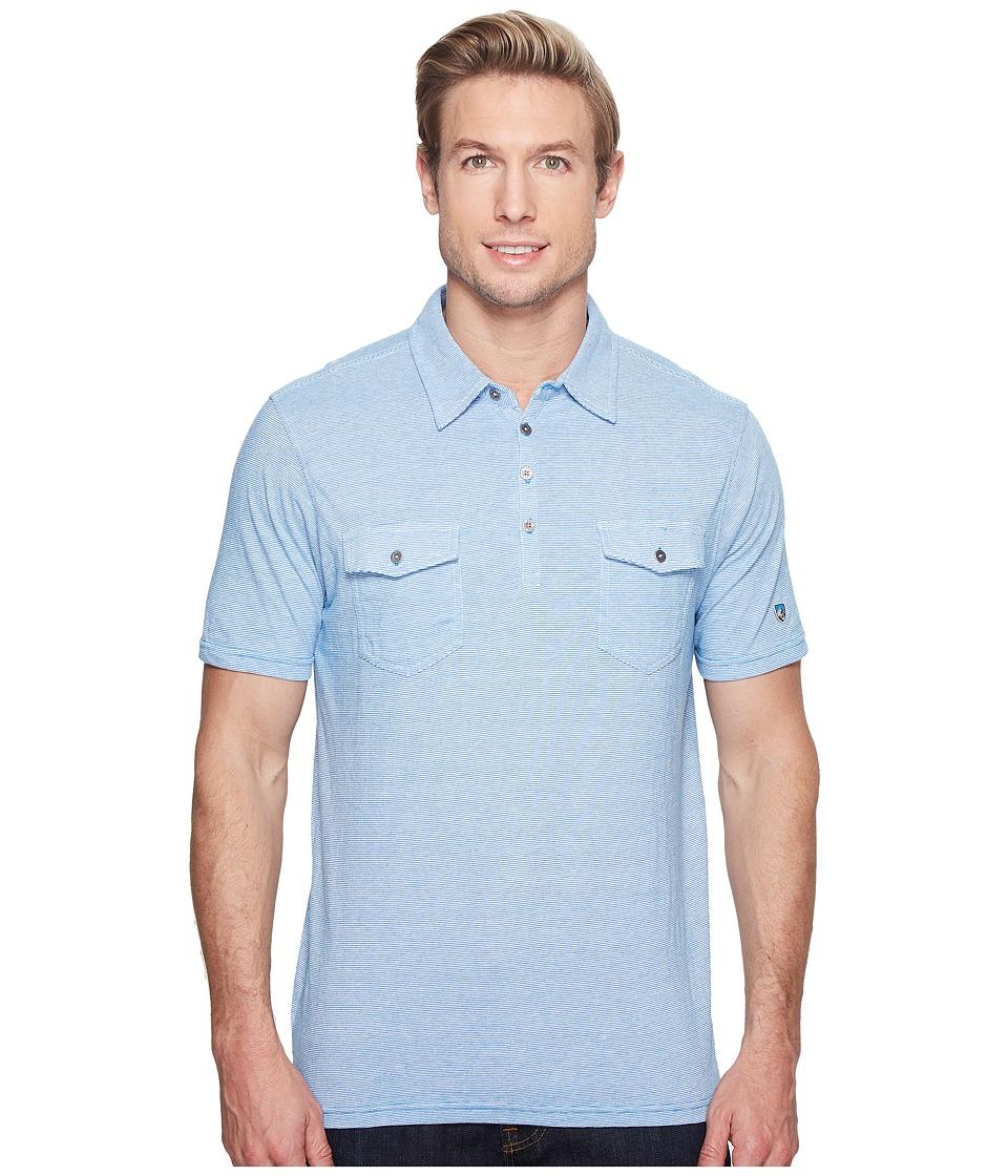 KUHL - Razrtm S/S Shirt (Air Blue) Men's Short Sleeve Pullover