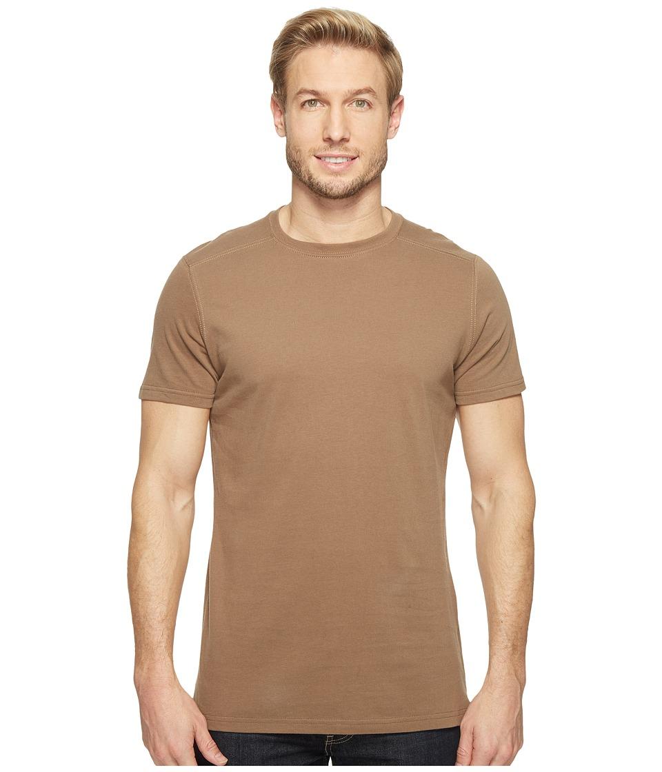 KUHL - Bravadotm Short Sleeve Top (Walnut) Men's Short Sleeve Pullover