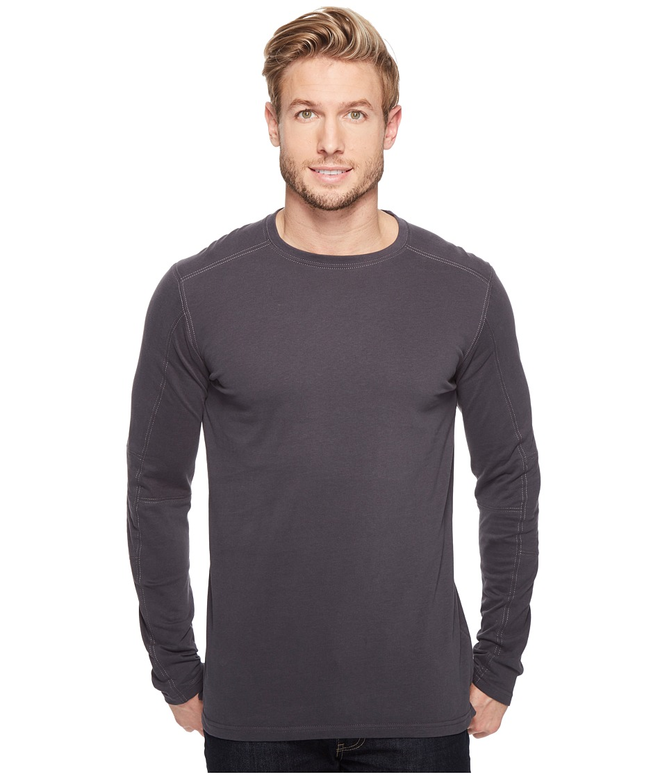 KUHL - Bravado Long Sleeve (Carbon) Men's Clothing