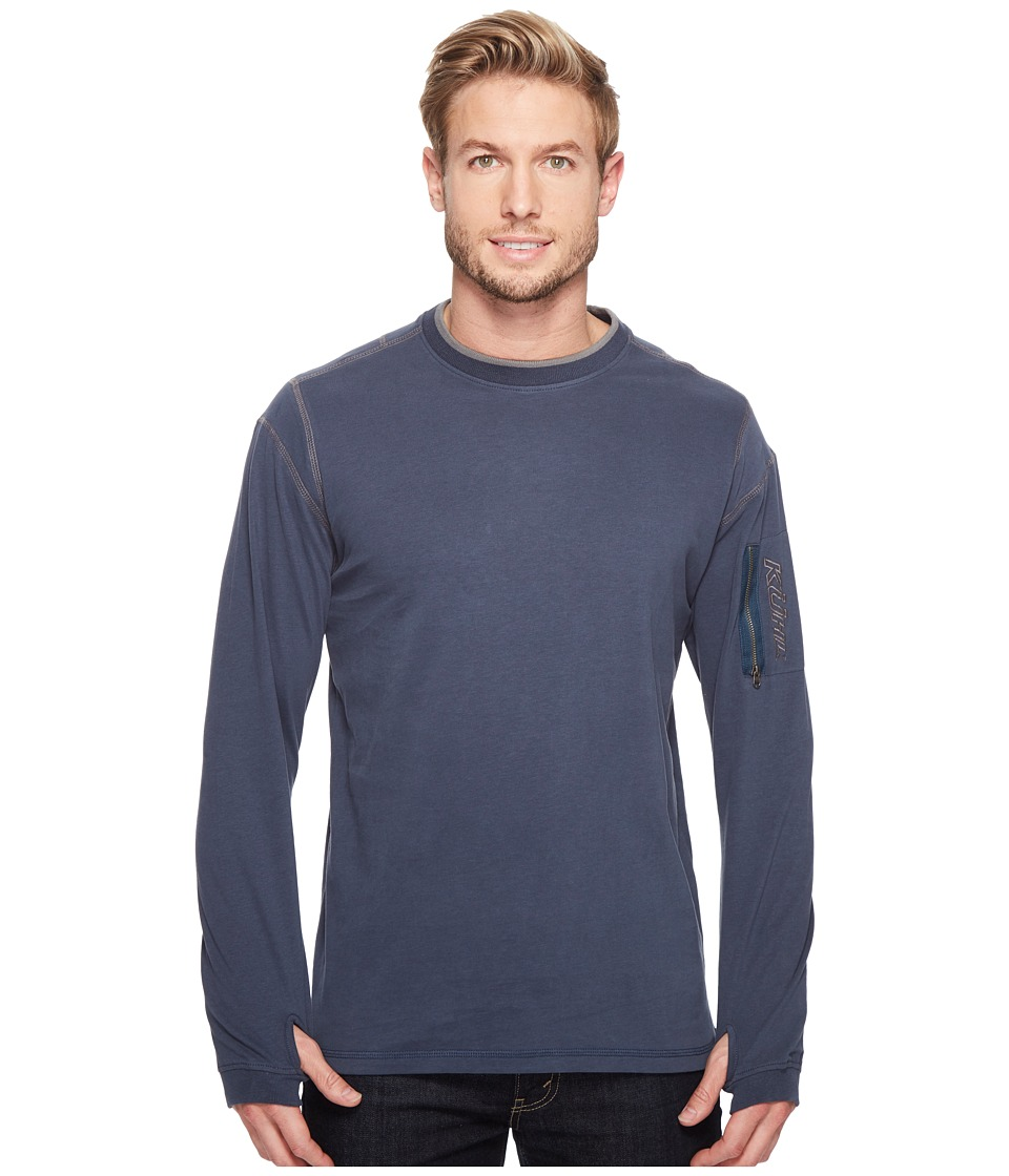 KUHL - Kommando Crew (Pirate Blue) Men's Long Sleeve Pullover