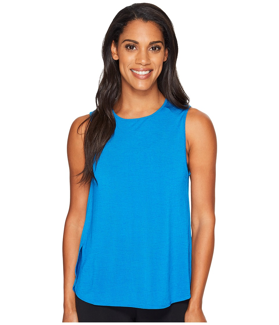 Lucy - Dream On Muscle Tank Top (Imperial Blue) Women's Sleeveless