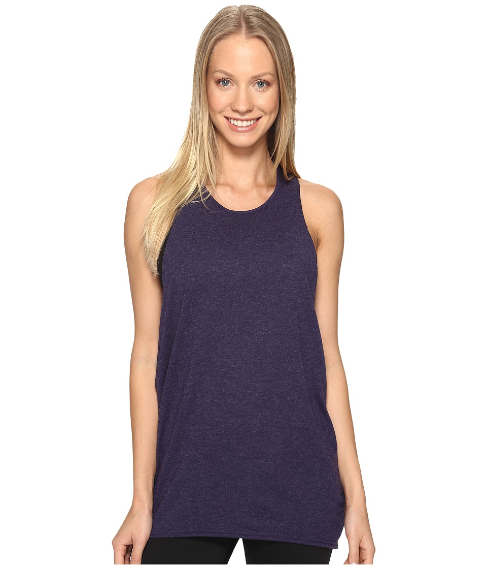 Lucy - Keep Calm Tank Top (Pure Indigo) Women's Sleeveless