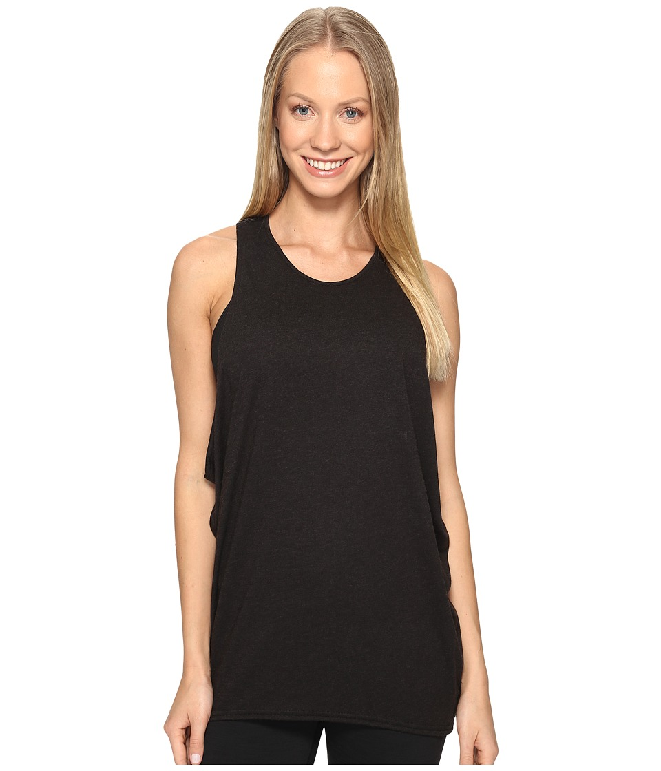 Lucy - Keep Calm Tank Top (Lucy Black Heather) Women's Sleeveless