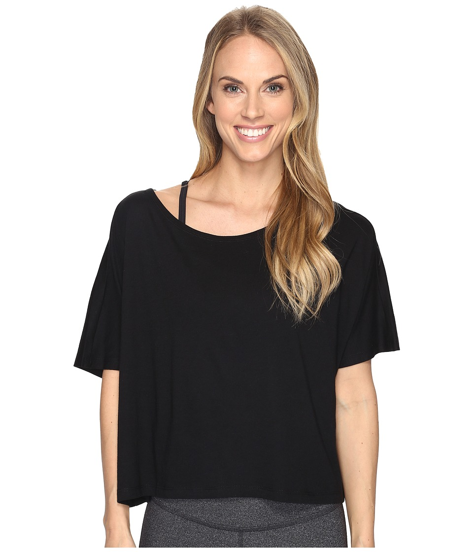 Lucy - Dream On Short Sleeve Top (Lucy Black) Women's Short Sleeve Pullover