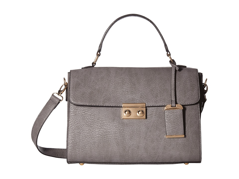 Gabriella Rocha - Yeara Structured Purse (Dark Grey) Handbags
