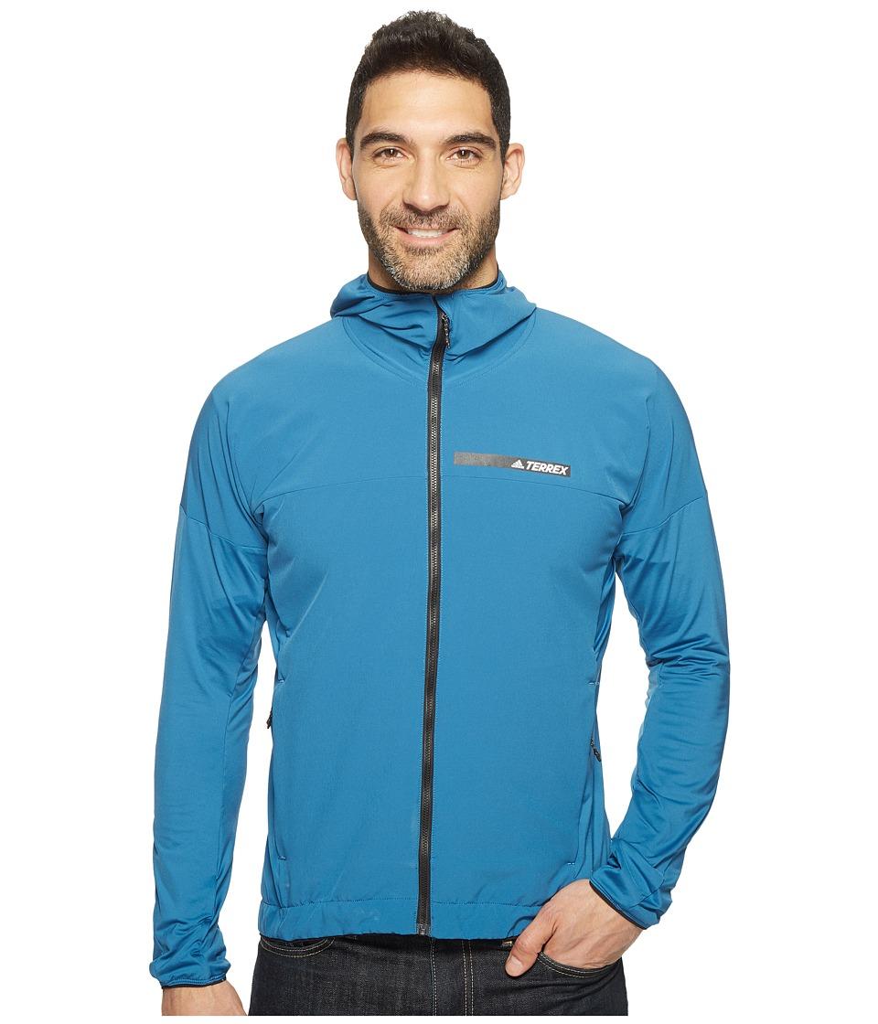adidas Outdoor - Voyager Jacket (Core Blue) Men's Coat
