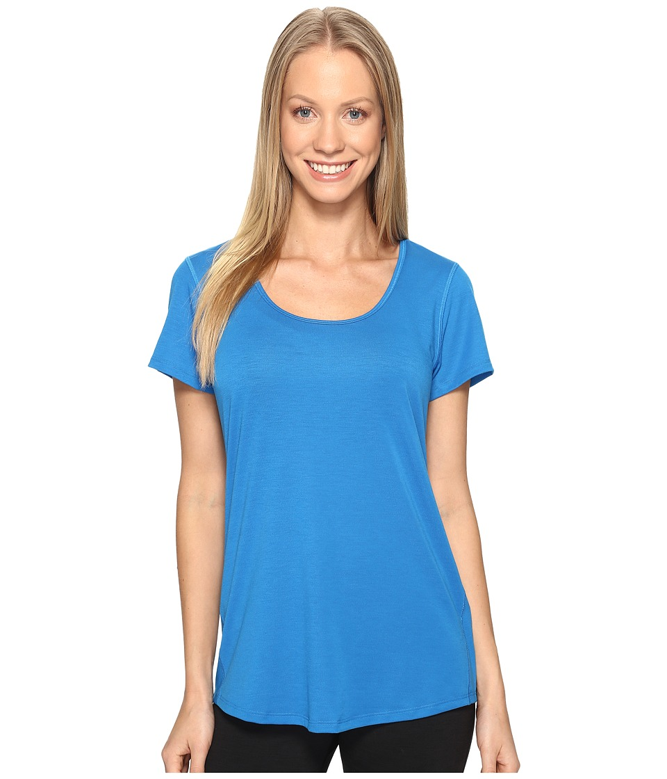 Lucy - S/S Workout Tee (Imperial Blue) Women's Workout