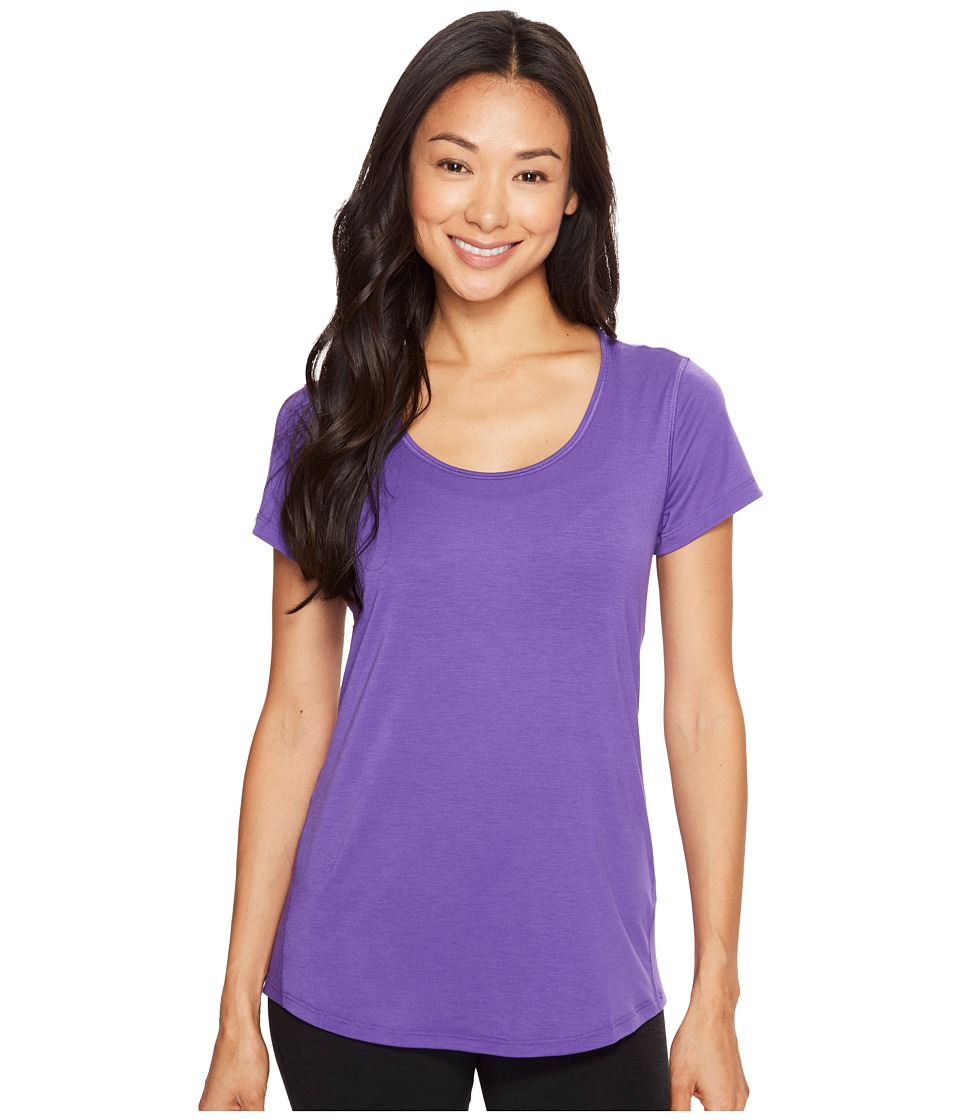 Lucy - S/S Workout Tee (Prism Violet) Women's Workout