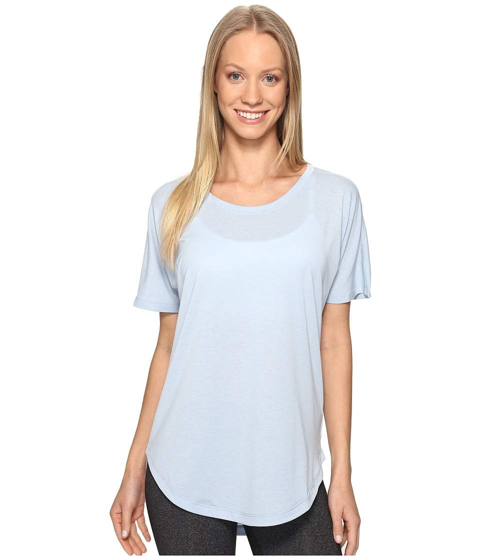 Lucy - Final Rep S/S (Blue Fog) Women's Short Sleeve Pullover