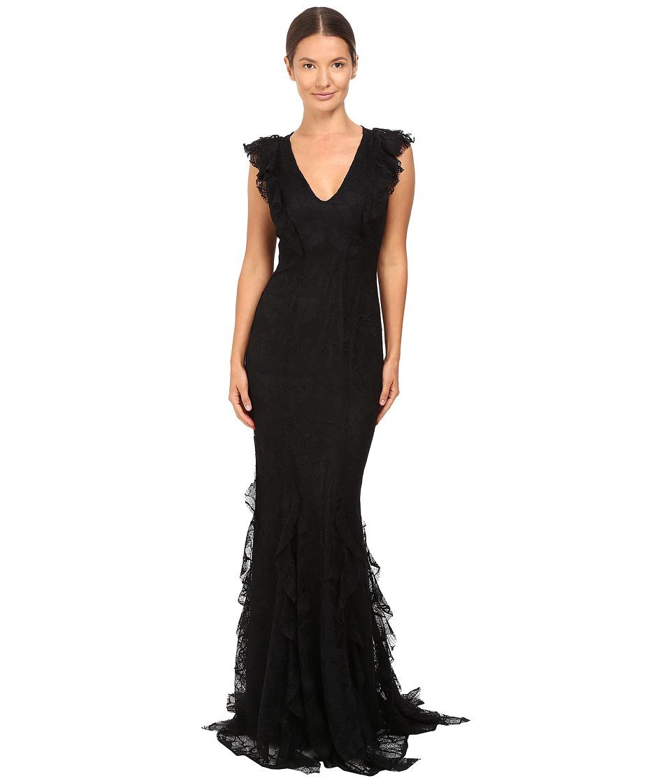 ZAC Zac Posen - Josephine Gown (Black) Women's Dress