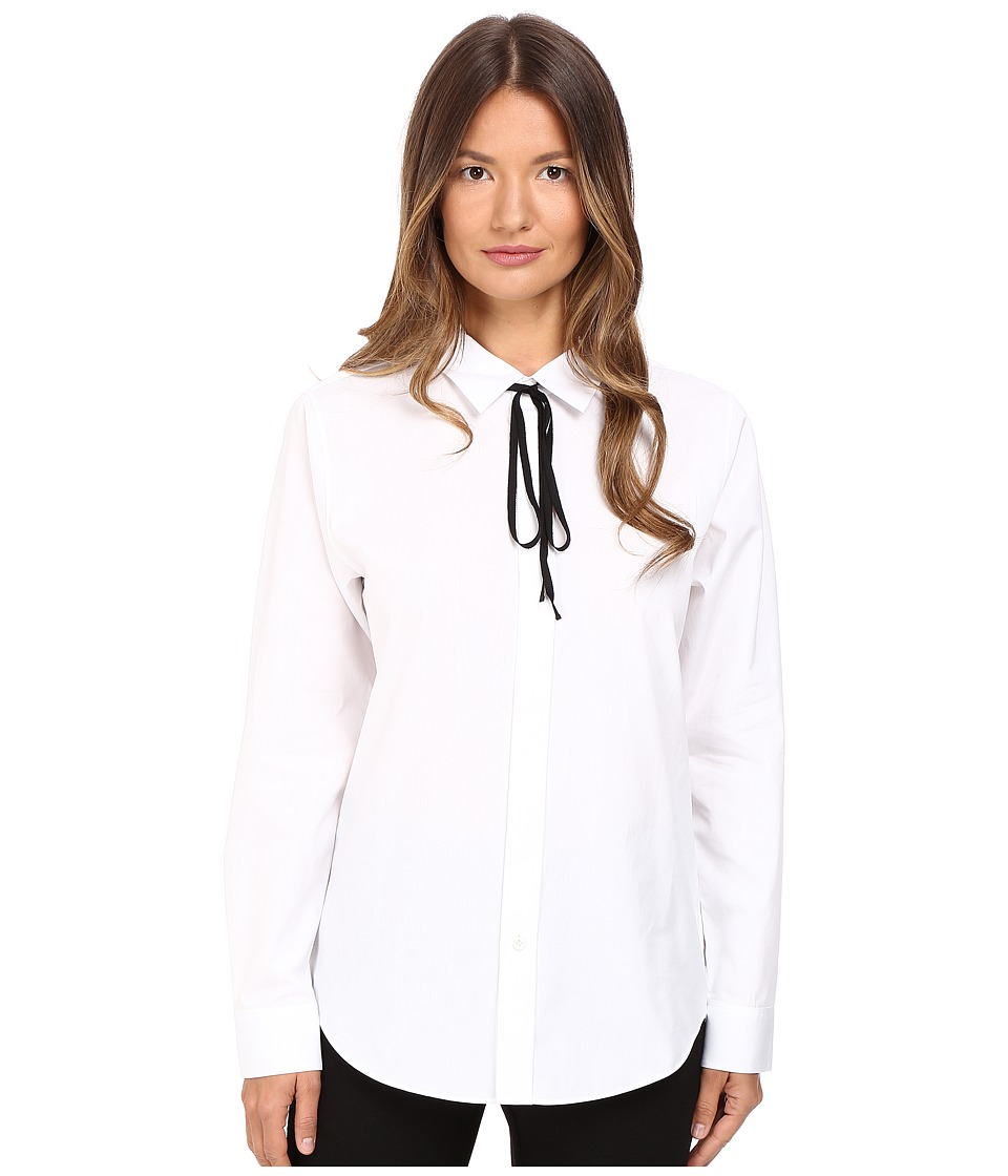 Theory - Anesha Sartorial Top (White) Women's Clothing