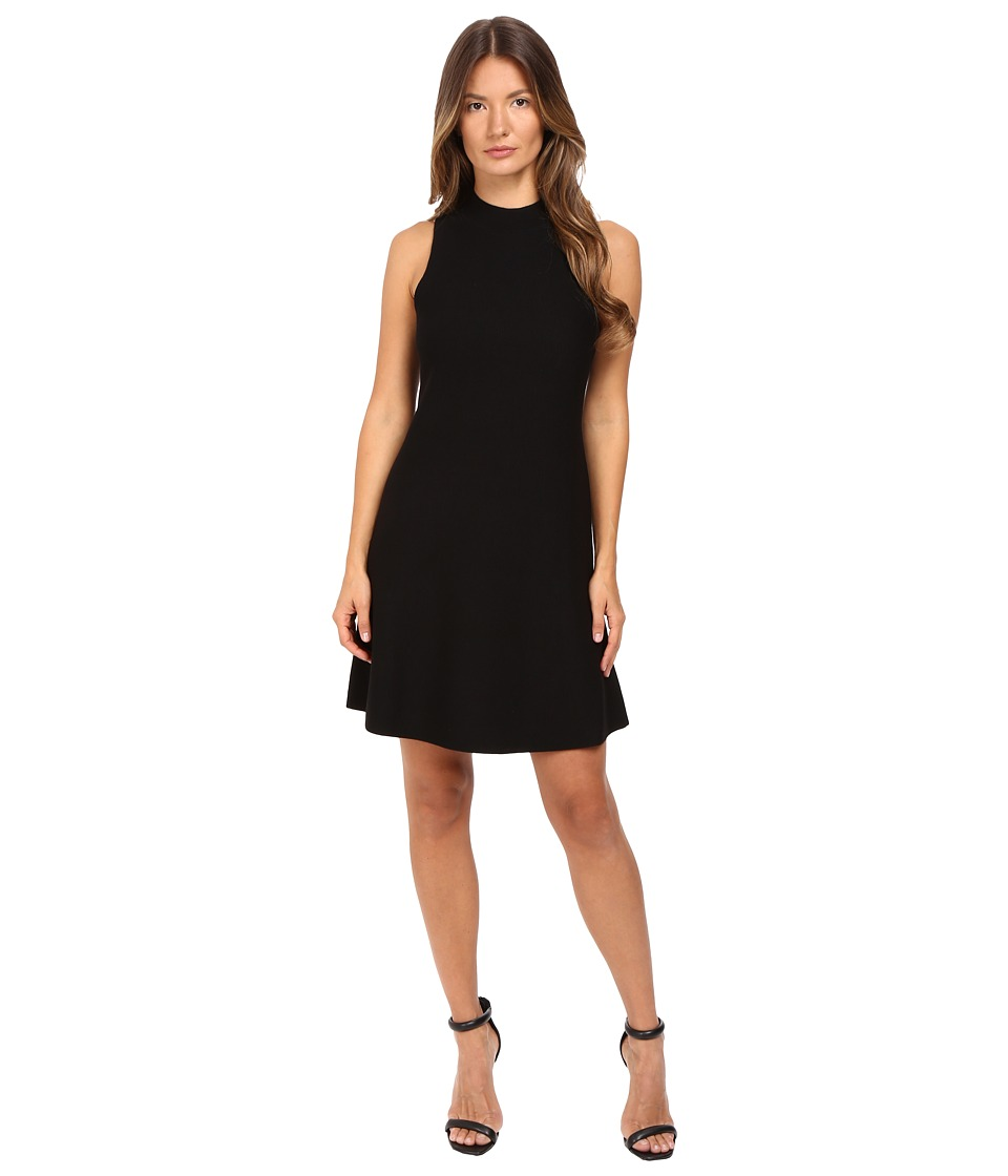 Theory Ineeta Milano Knit Dress (Black) Women