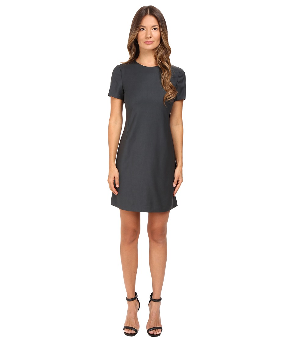 Theory Jatinn Continuous Dress (Dark Slate) Women