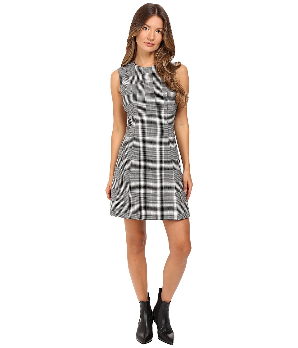 Theory - Helaina DF Portland Dress (Black/White) Women's Dress