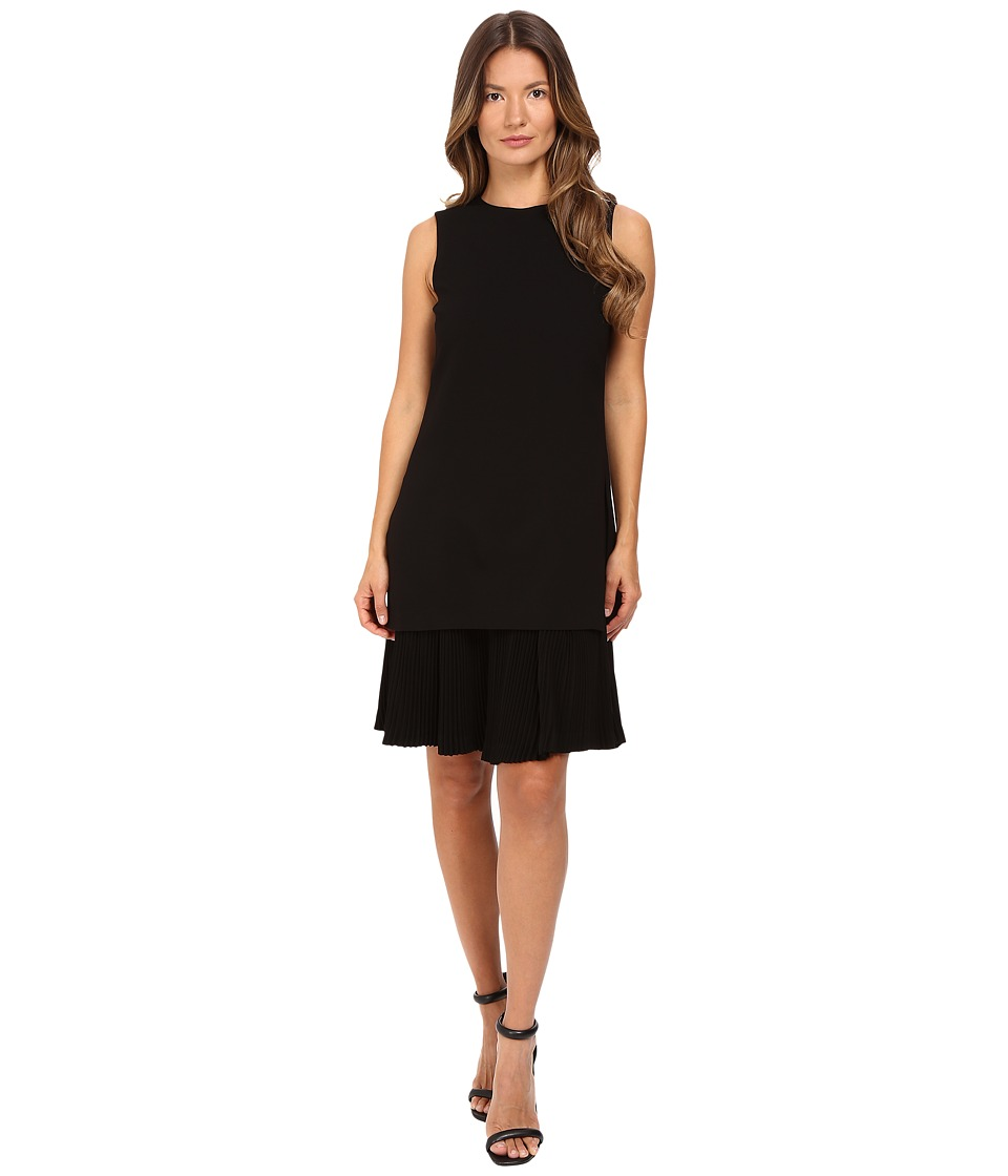 Theory Malkan P Winslow Crepe Dress (Black) Women