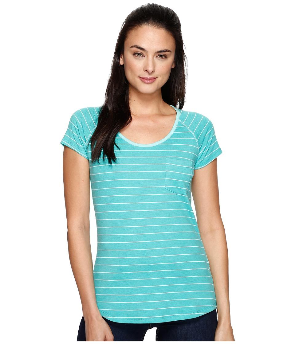 KUHL - Kyra Short Sleeve Shirt (Jade) Women's Short Sleeve Pullover