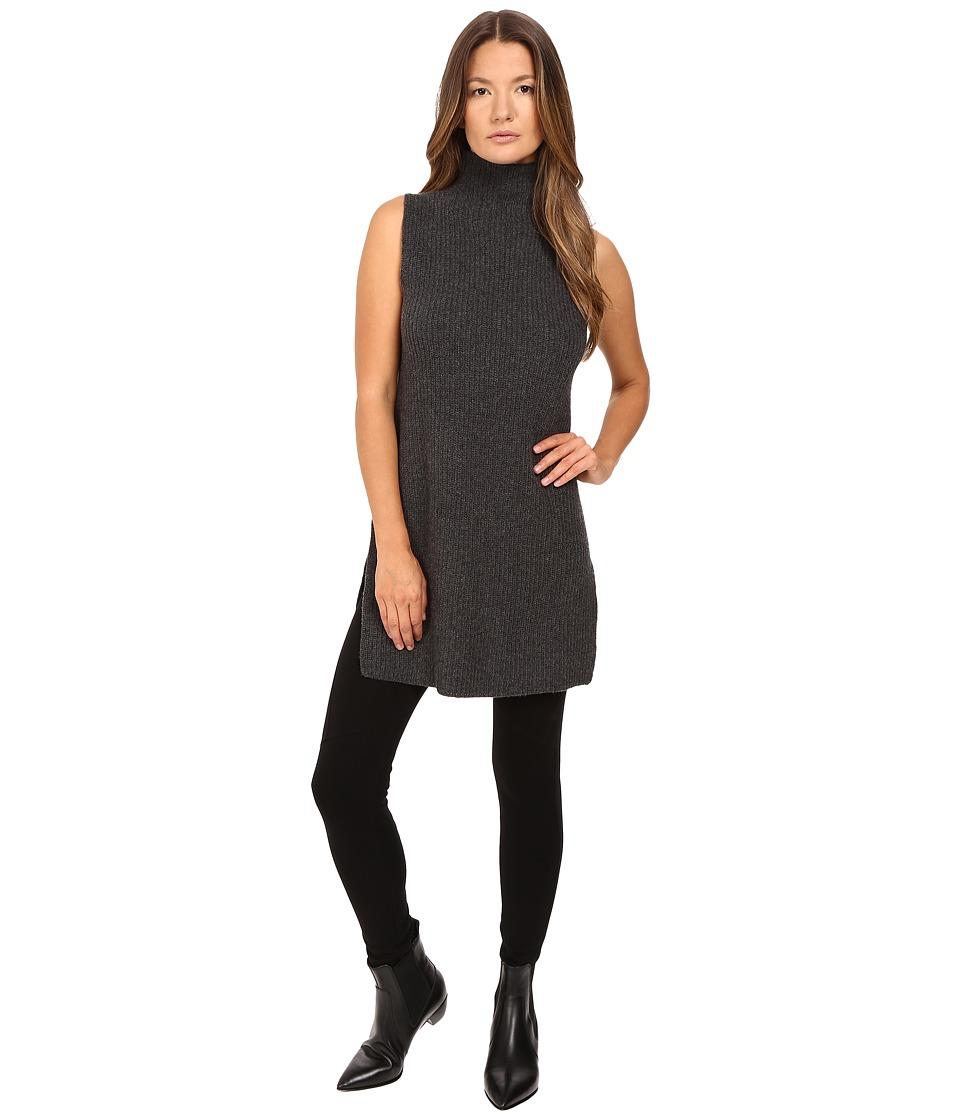 Theory Embree Charmant Sweater (Dark Charcoal) Women