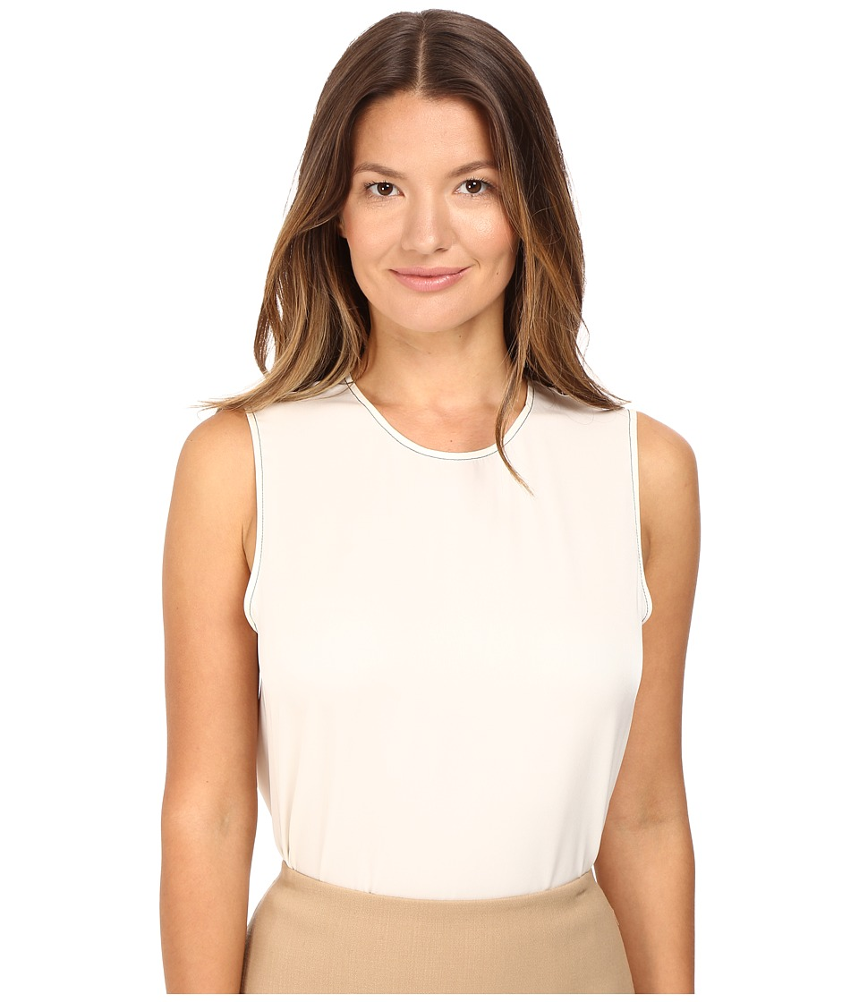 Theory - Melana Modern GGT Top (Ivory) Women's Clothing