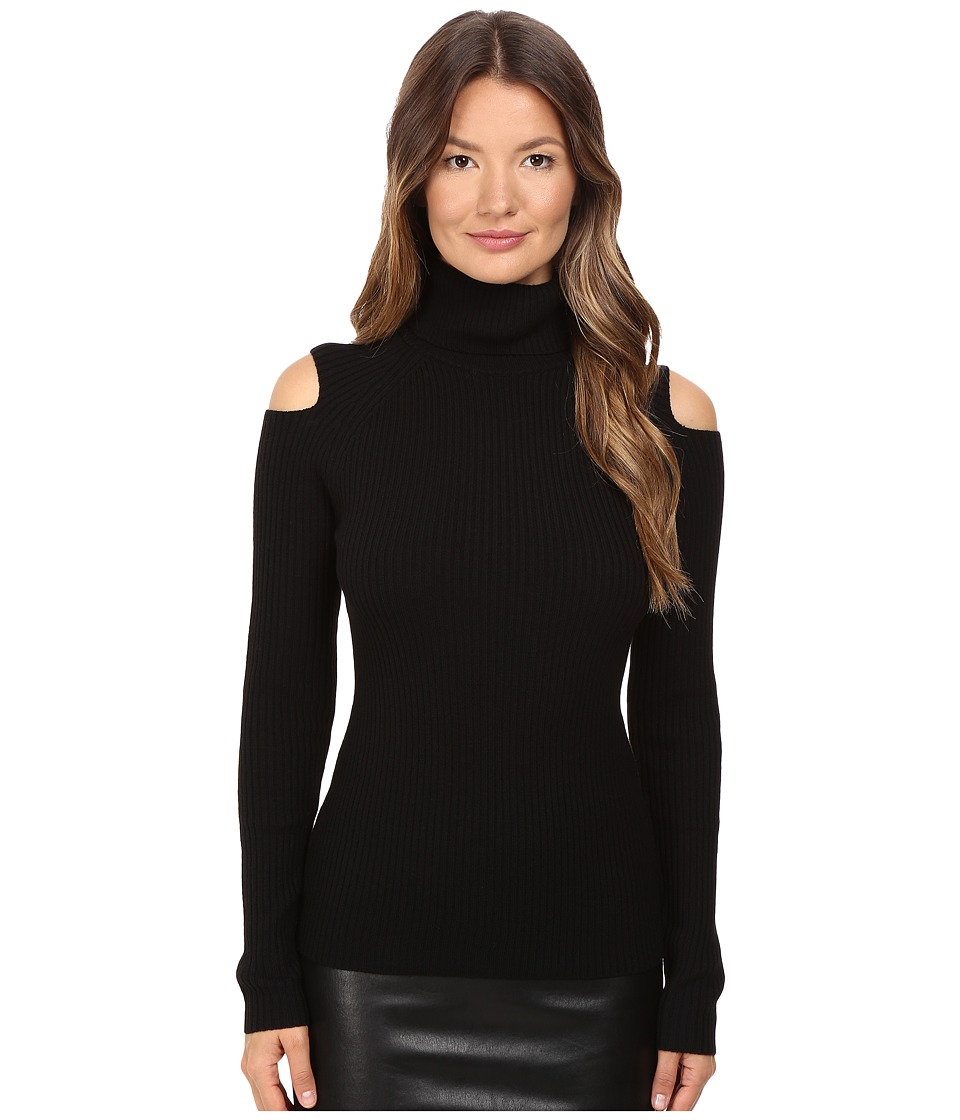 Theory - Jemliss Evian Stretch Sweater (Black) Women's Sweater