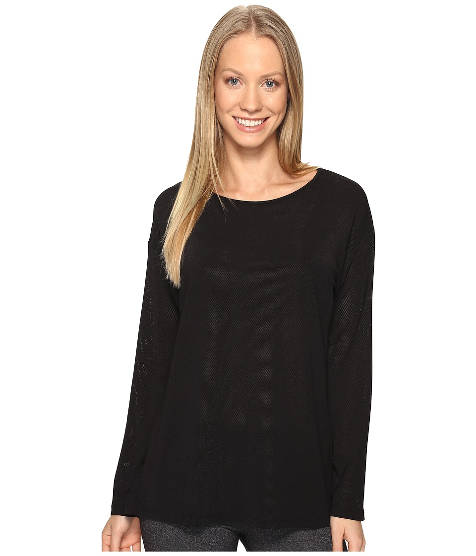 Lucy - Uncharted Long Sleeve Top (Lucy Black) Women's Long Sleeve Pullover