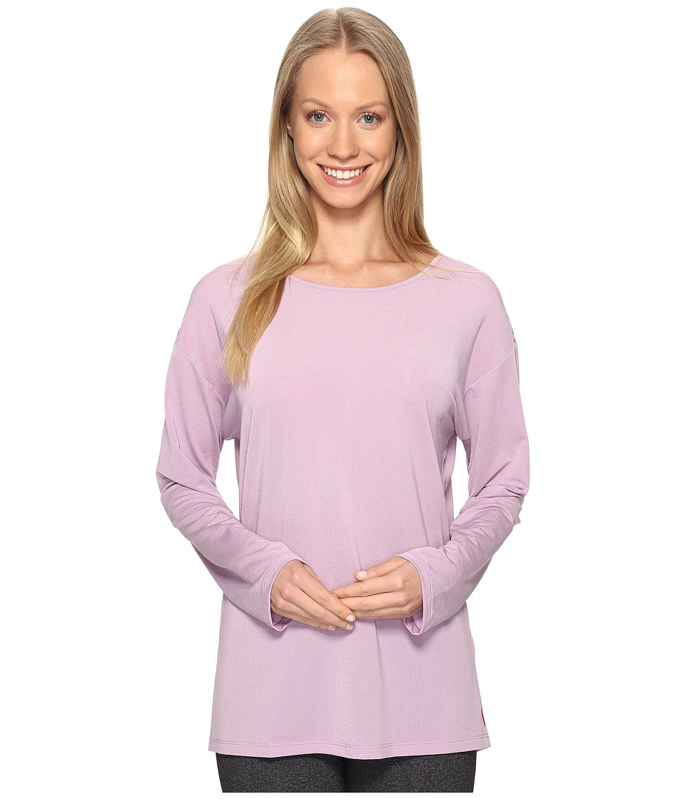 Lucy - Uncharted Long Sleeve Top (Fresh Lavender) Women's Long Sleeve Pullover