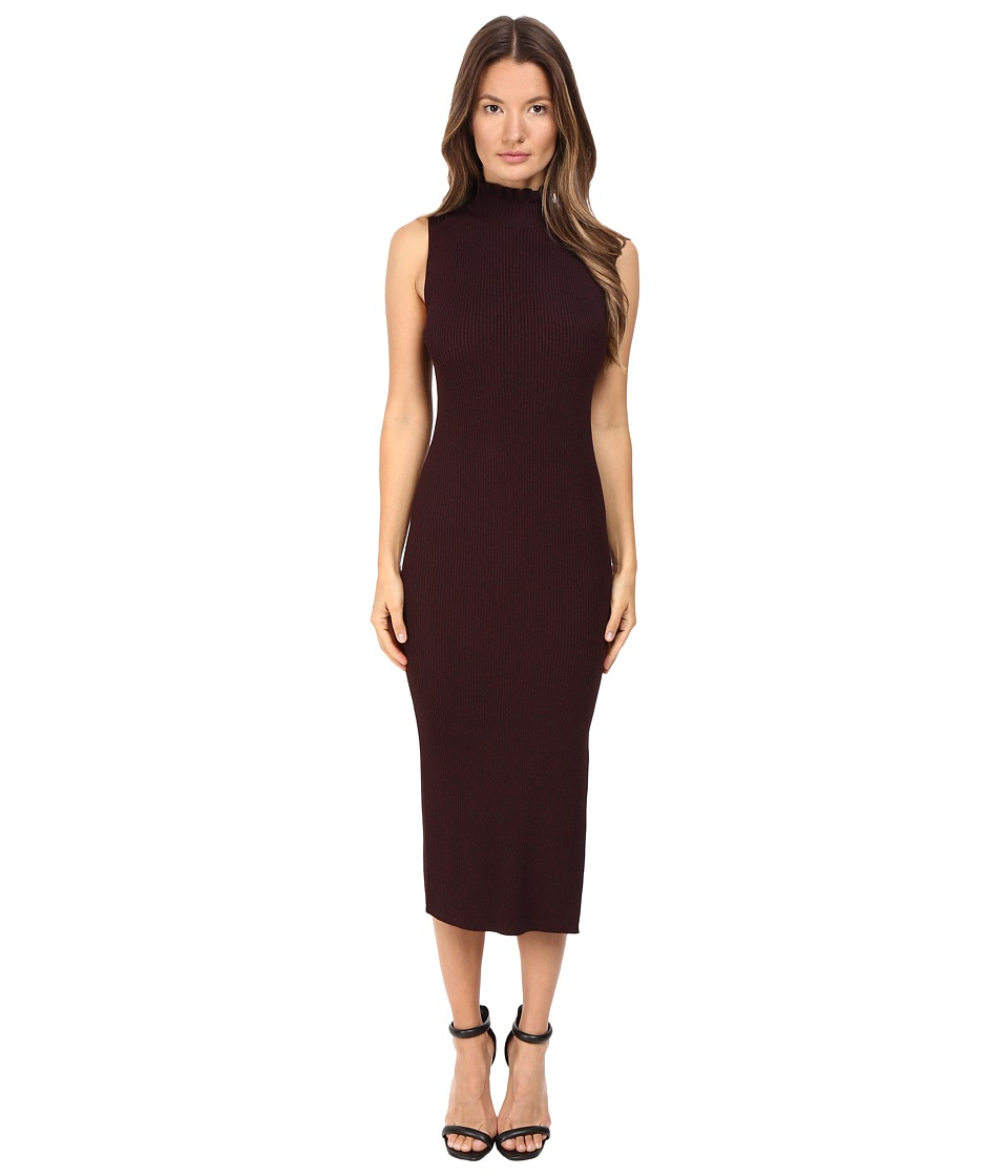 Theory Hedrisa Dress (Black/Sumac) Women