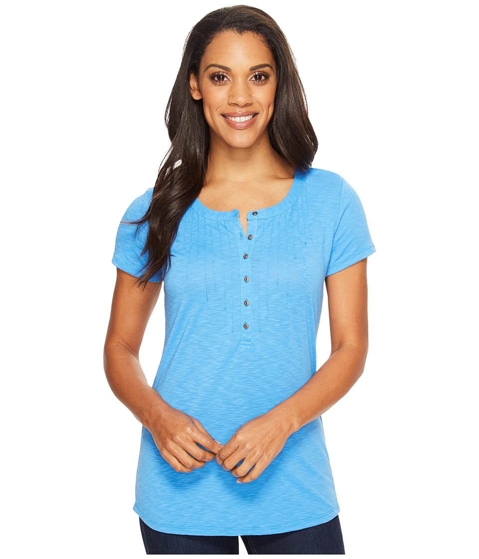 KUHL - Val Short Sleeve Shirt (Atlantis) Women's Short Sleeve Pullover
