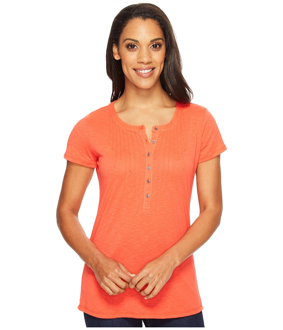 KUHL - Val Short Sleeve Shirt (Hibiscus) Women's Short Sleeve Pullover