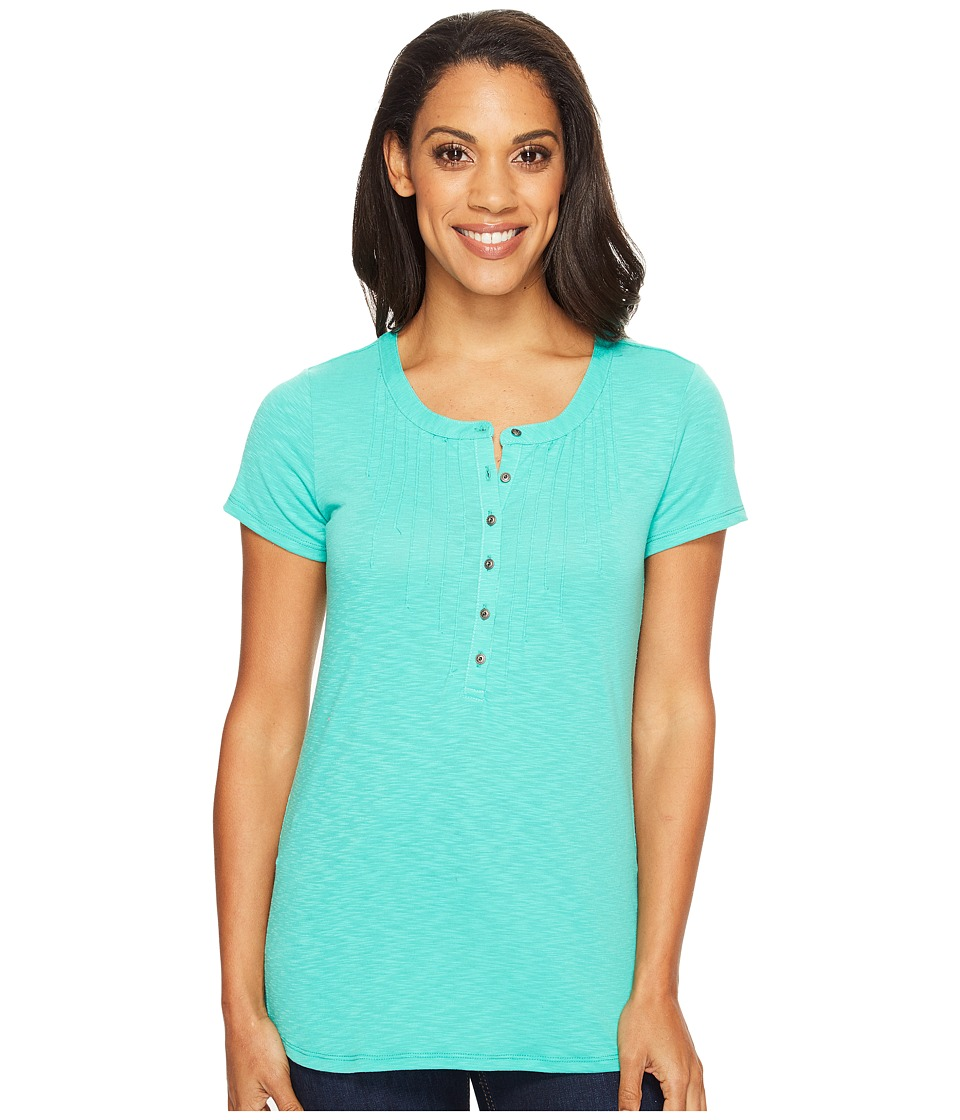 KUHL - Val Short Sleeve Shirt (Jade) Women's Short Sleeve Pullover