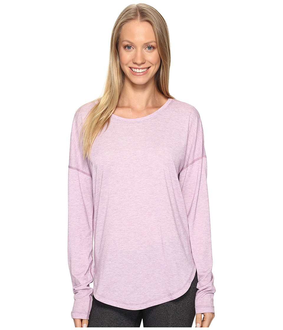 Lucy - Final Rep Long Sleeve Top (Fresh Lavender Heather) Women's Long Sleeve Pullover