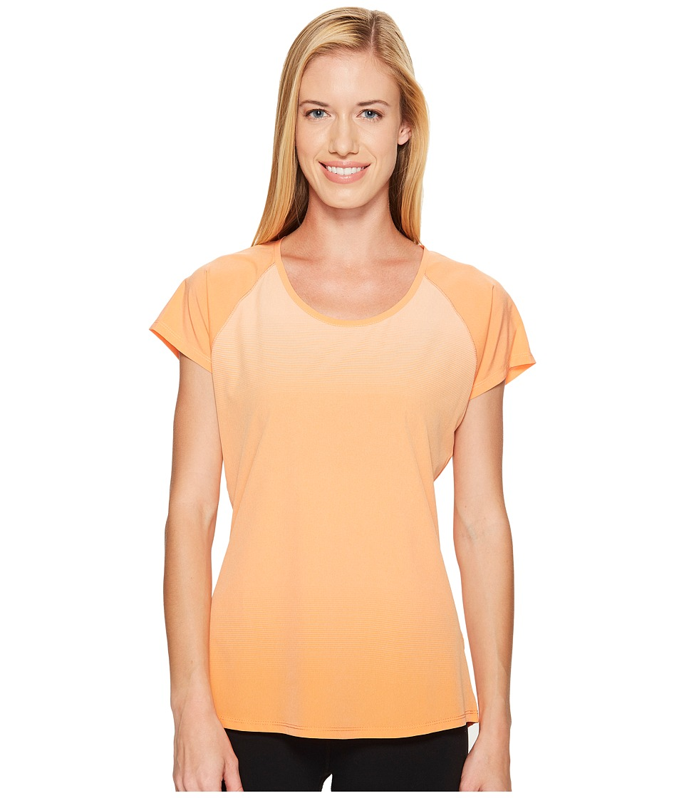 KUHL - Harmony Short Sleeve Shirt (Clementine) Women's Short Sleeve Pullover