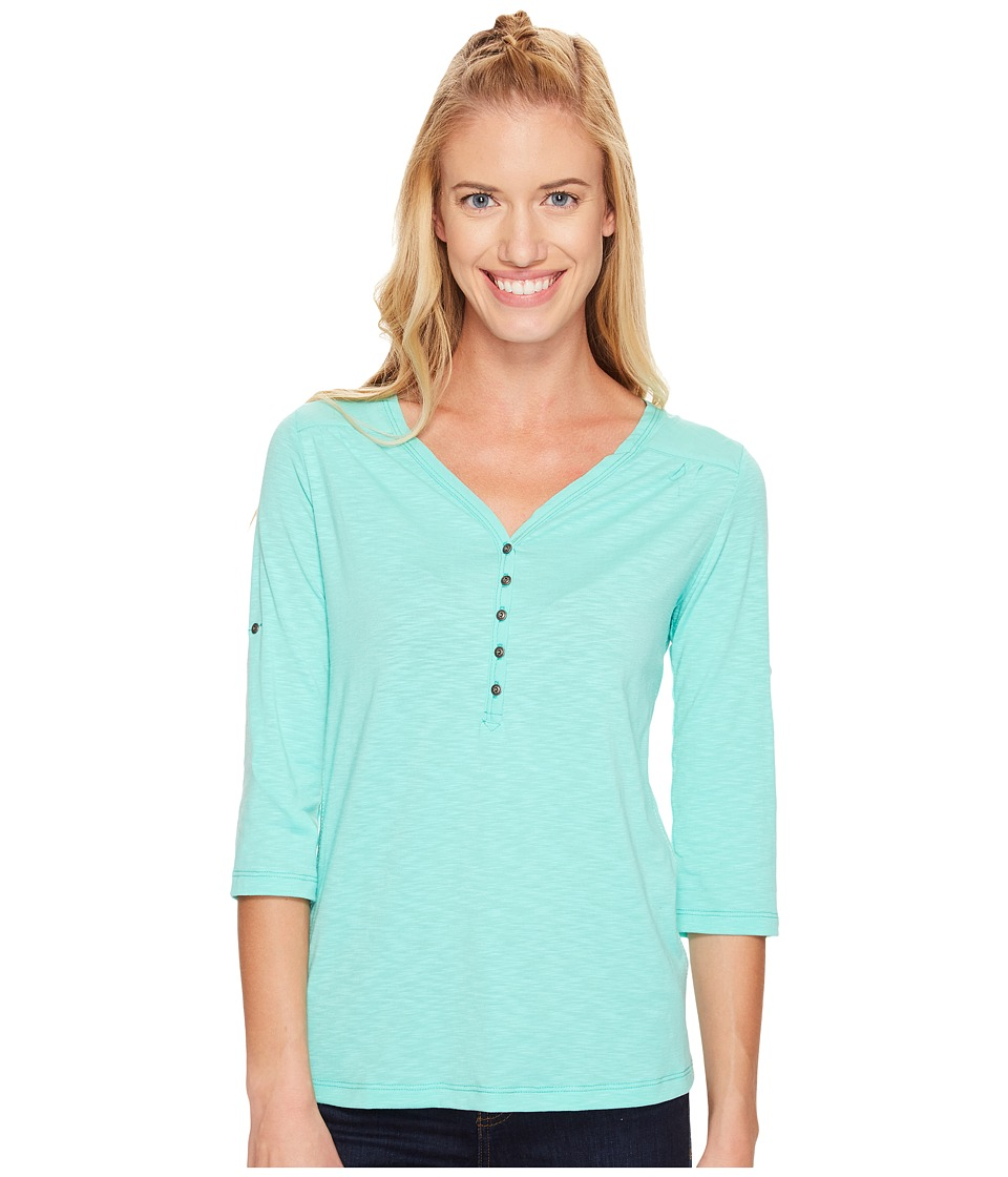 KUHL - Shasta 3/4 Sleeve Shirt (Belize) Women's Long Sleeve Pullover