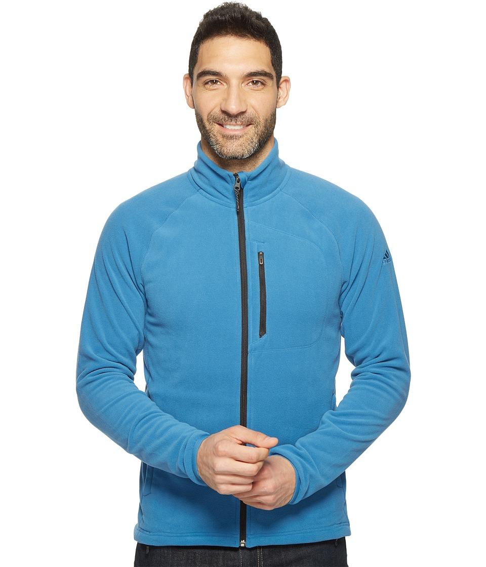 adidas Outdoor Reachout Fleece Jacket (Core Blue) Men