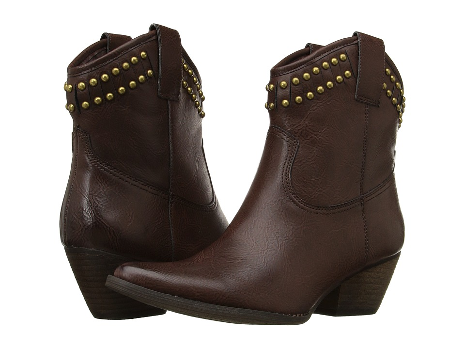 VOLATILE - Lunet (Brown) Women's Boots