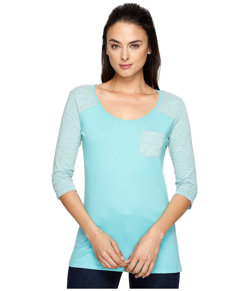 KUHL - Kahera 3/4 Sleeve Shirt (Belize) Women's Long Sleeve Pullover
